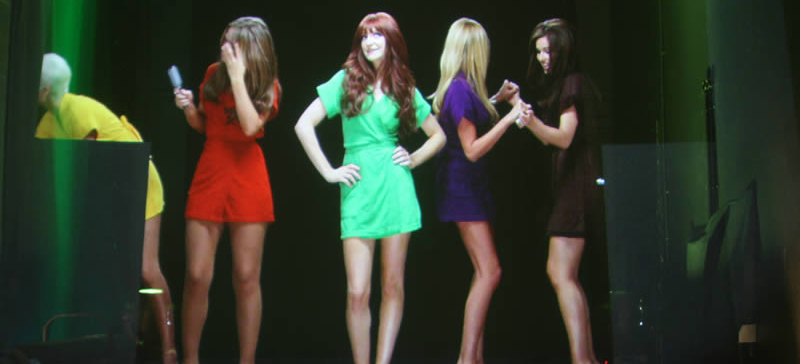 Girls Aloud Hologram