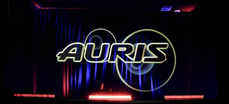 Toyota Auris hologram