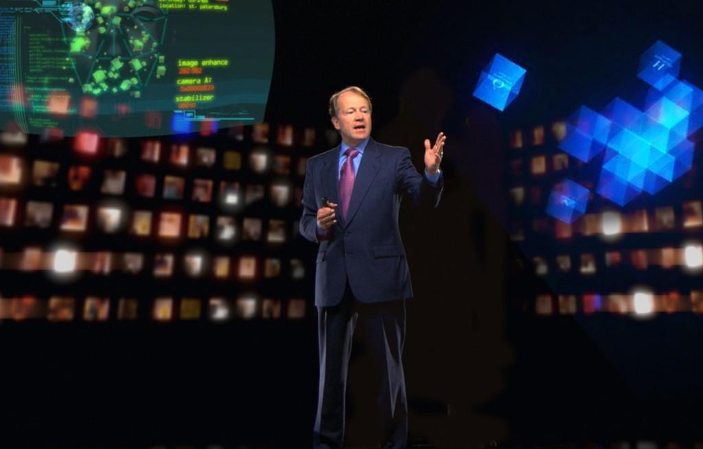 Cisco holographic presentation