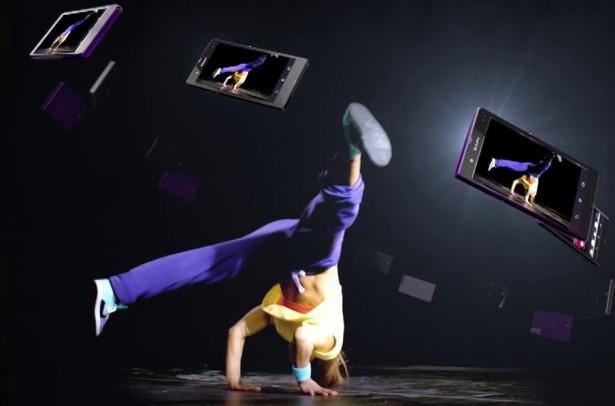 Sony Experia hologram