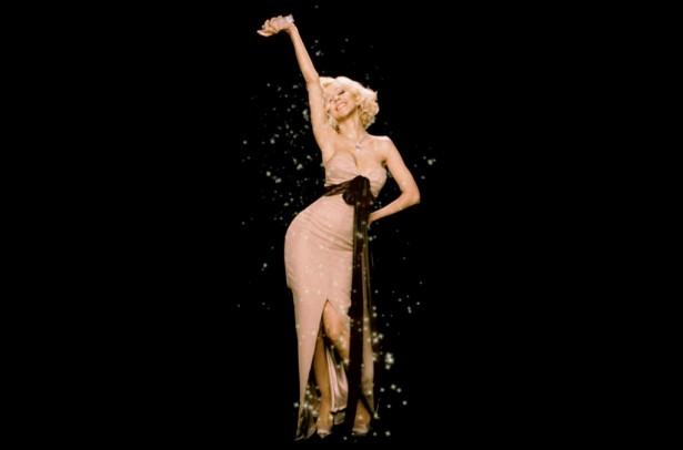 Christina Aguilera Hologram